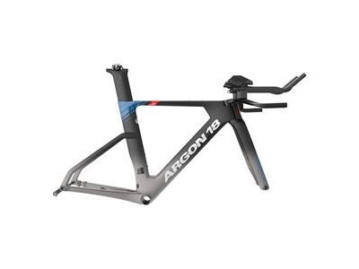 Argon 18 E-118 Tri Disc Frameset 2020 Black Frozen To Grey Matte