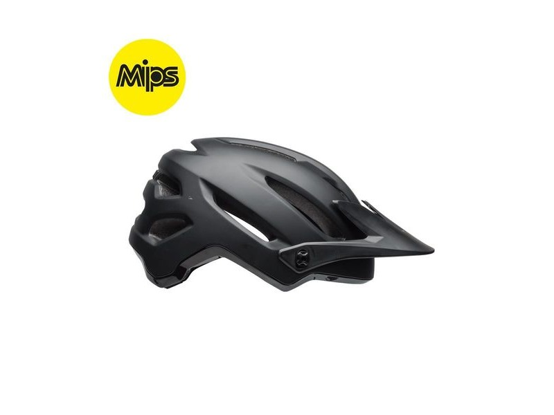 Bell 4forty Mips MTB Helmet 2018: Matt/Gloss Black click to zoom image