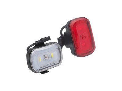 Blackburn Click Usb Front + Rear Light Set Black