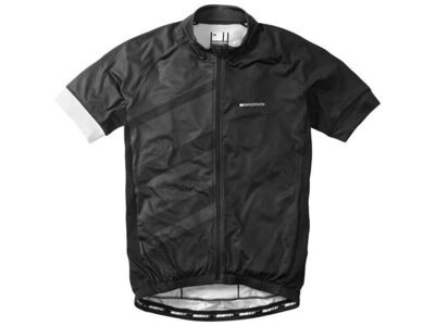 Madison Sportive Race men's short sleeve jersey, black / phantom